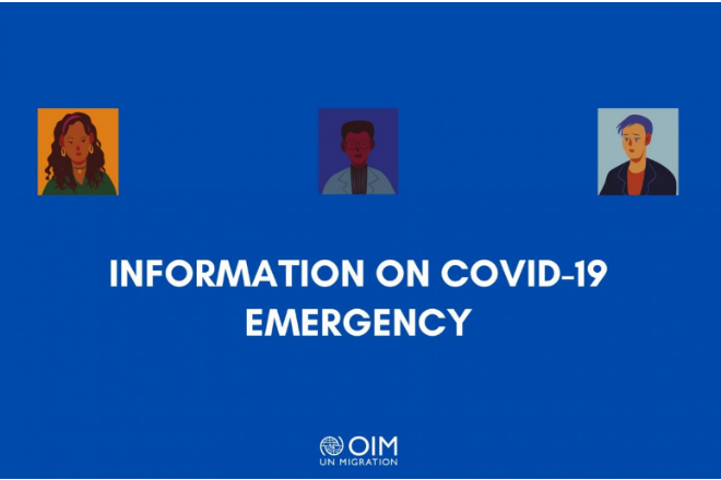 COVID-19: IOM provides information materials in several languages