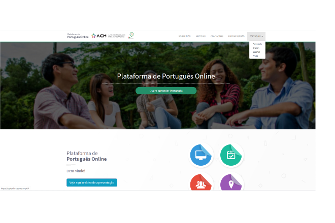 Online Platform for Portuguese reached 20 thousand users